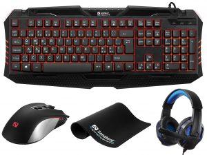 640-09 Sandberg gaming starter kit