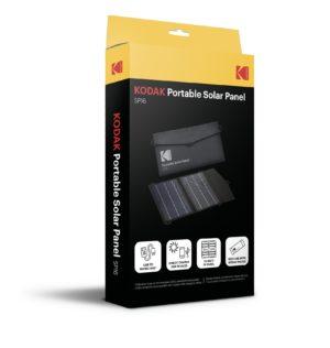 Kodak SP16 kannettava aurinkopaneeli myyntipakkauksessaan