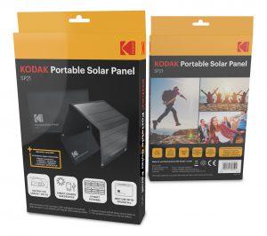 Kodak SP21 -aurinkopaneeli