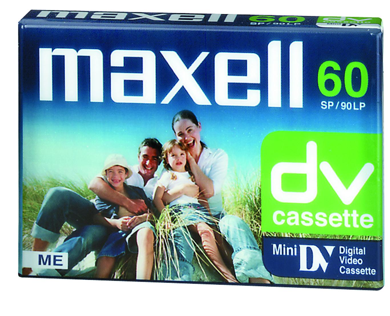 Maxell DVM kamerakasettipakkaus