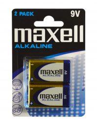 Maxell 9V 6LR61-paristo 2-pack