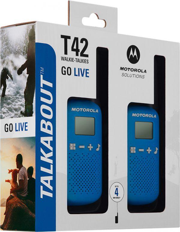 Motorola TALKABOUT T42 -radiopuhelinsetti 2-pack