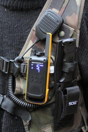 Motorola T82 radiopuhelin