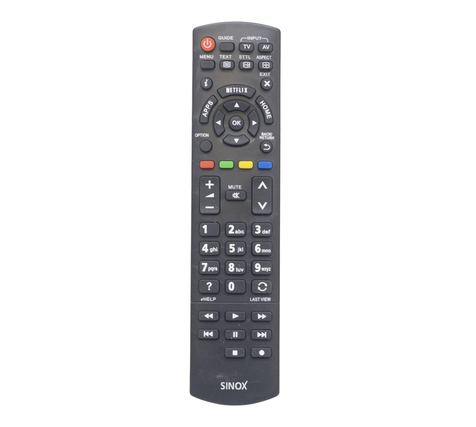 SXR1050 Sinox Panasonic kaukosäädin televisiolle