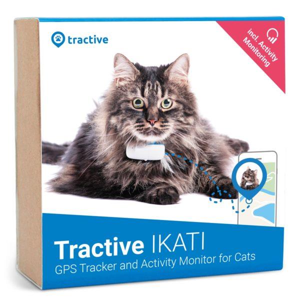 Tractive GPS CAT IKATI - kissan GPS-paikannin