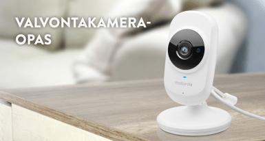 Valvontakameraopas - Mikä valvontakamera sopii kotiin tai mökille? Millaisen kameran valitsen sisälle ja ulos? Vastaukset löydät tästä oppaasta.