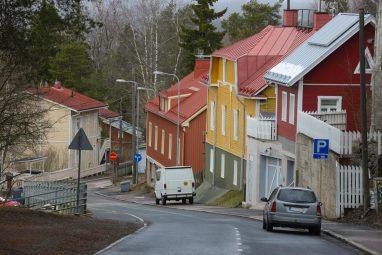 Pispalanharju Tampereella on radonaluetta