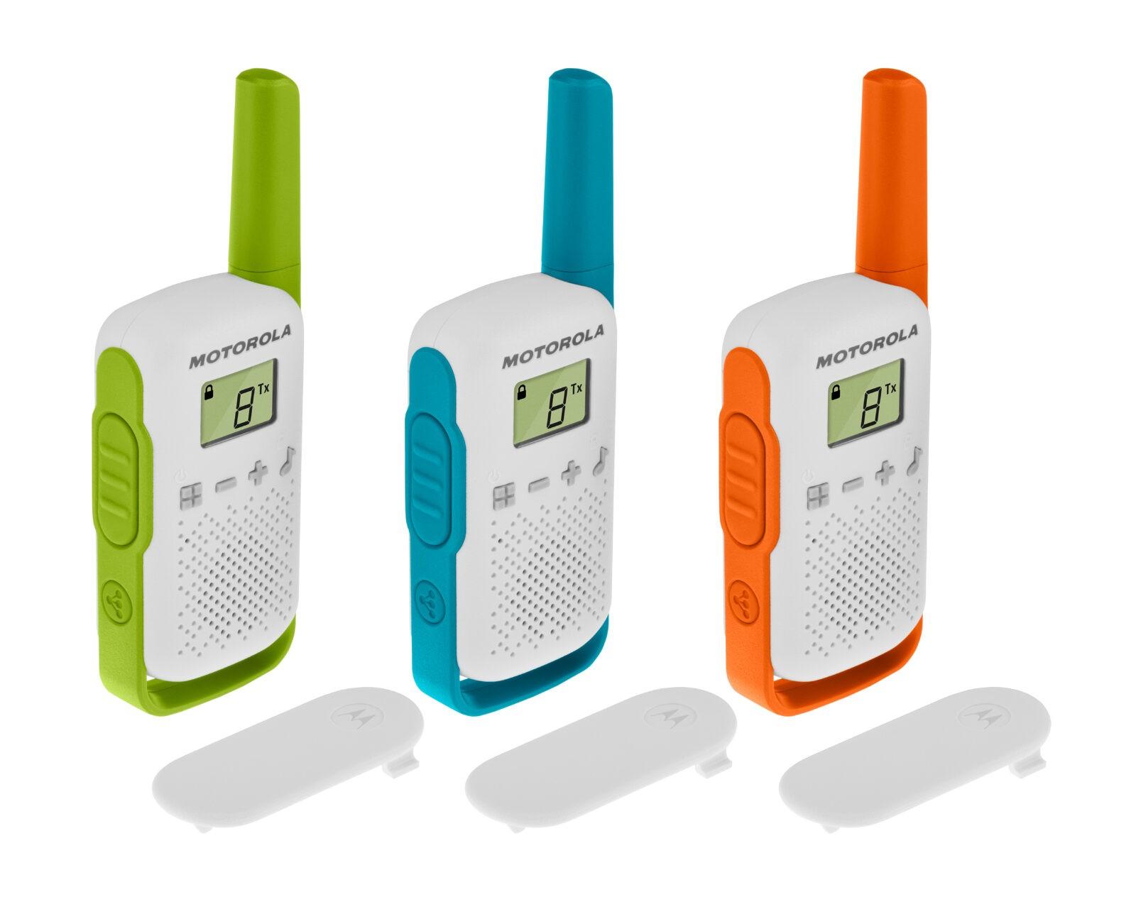Motorola TALKABOUT T42 -radiopuhelinsetti 3-pack